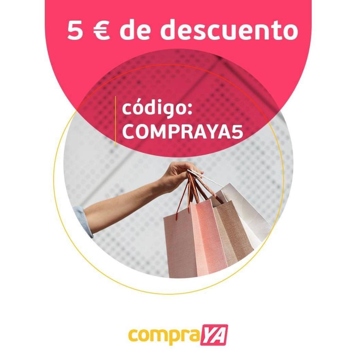 5 euros de descuento en la primera compra en Compra Ya