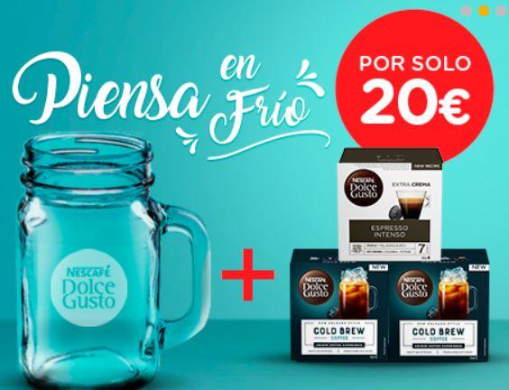 COMBO TAZA JARRA + 2 COLD BREW + ESPRESSO INTENSO
