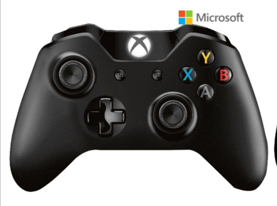 Mando - Microsoft, Inalámbrico, 4N7-00002 Xbox One, Bluetooth + Adaptador para Windows 10