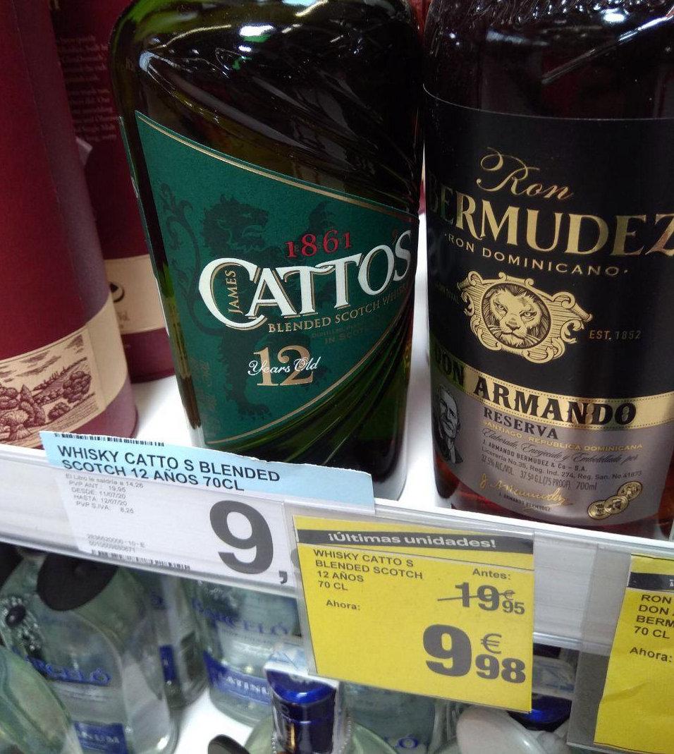 Whisky y Ron a mitad de precio en Carrefour Ciudad de la imagen