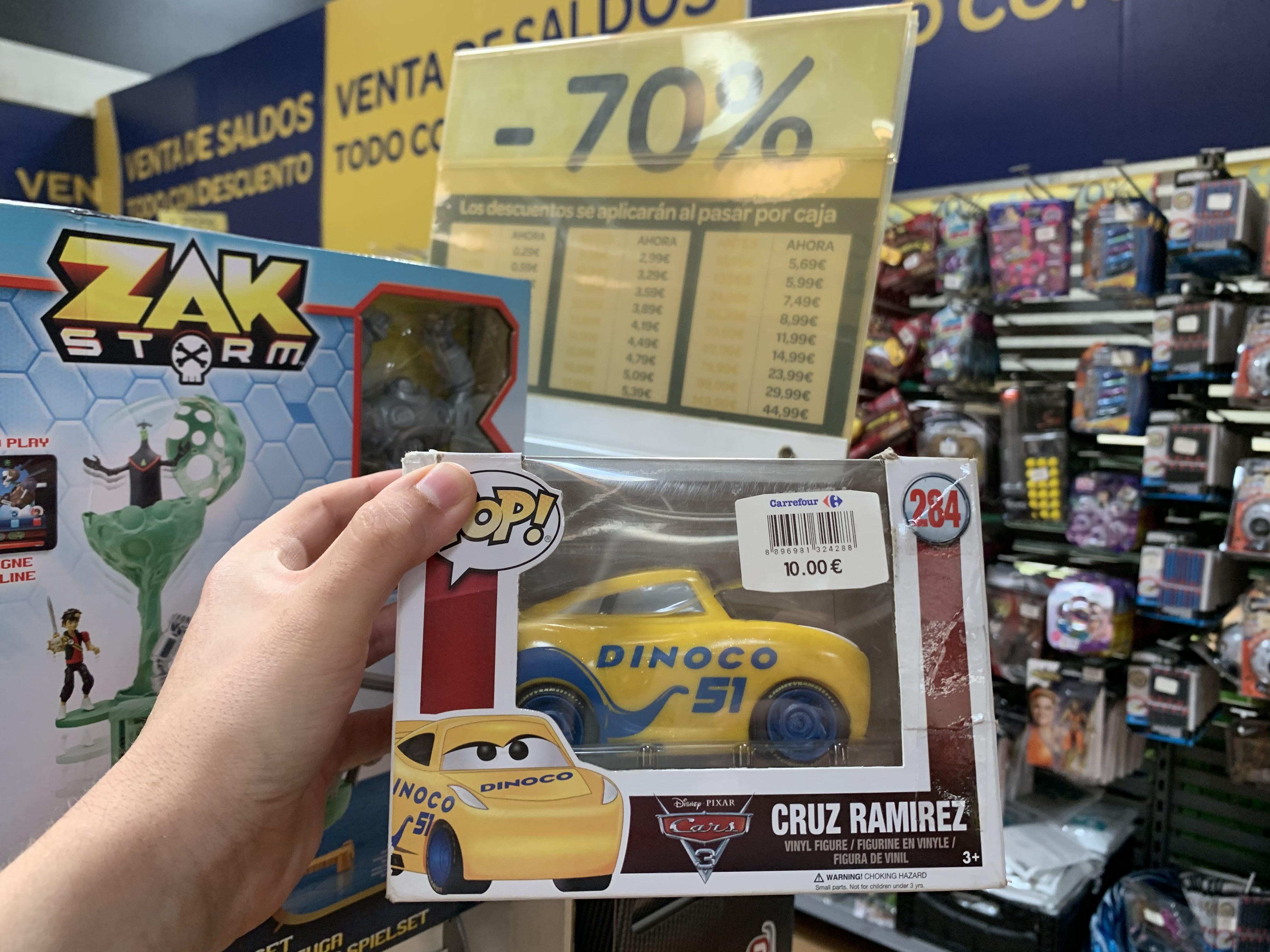 "Funko Pop Disney ""CARS"" (Carrefour Atalayas, Murcia)"