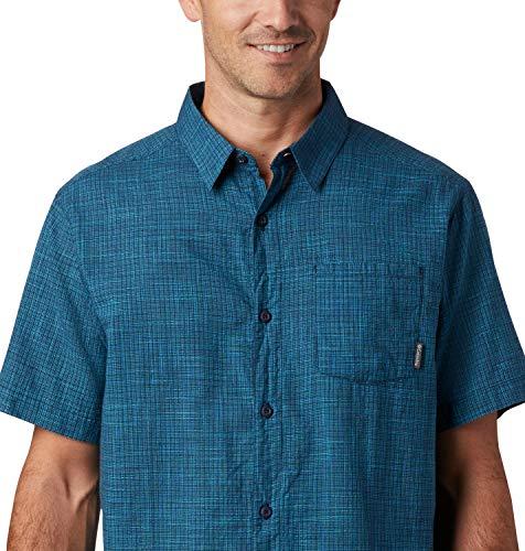 Columbia Under Exposure - Camisa de Manga Corta Yarn Dye Hombre TALLA M