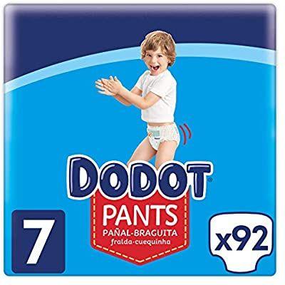 Dodot Pants Pañal - Braguita Talla 7, 92 Pañales, 17 kg +