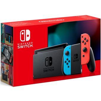 Nintendo Switch V2 + Cupón 45€ en Fnac