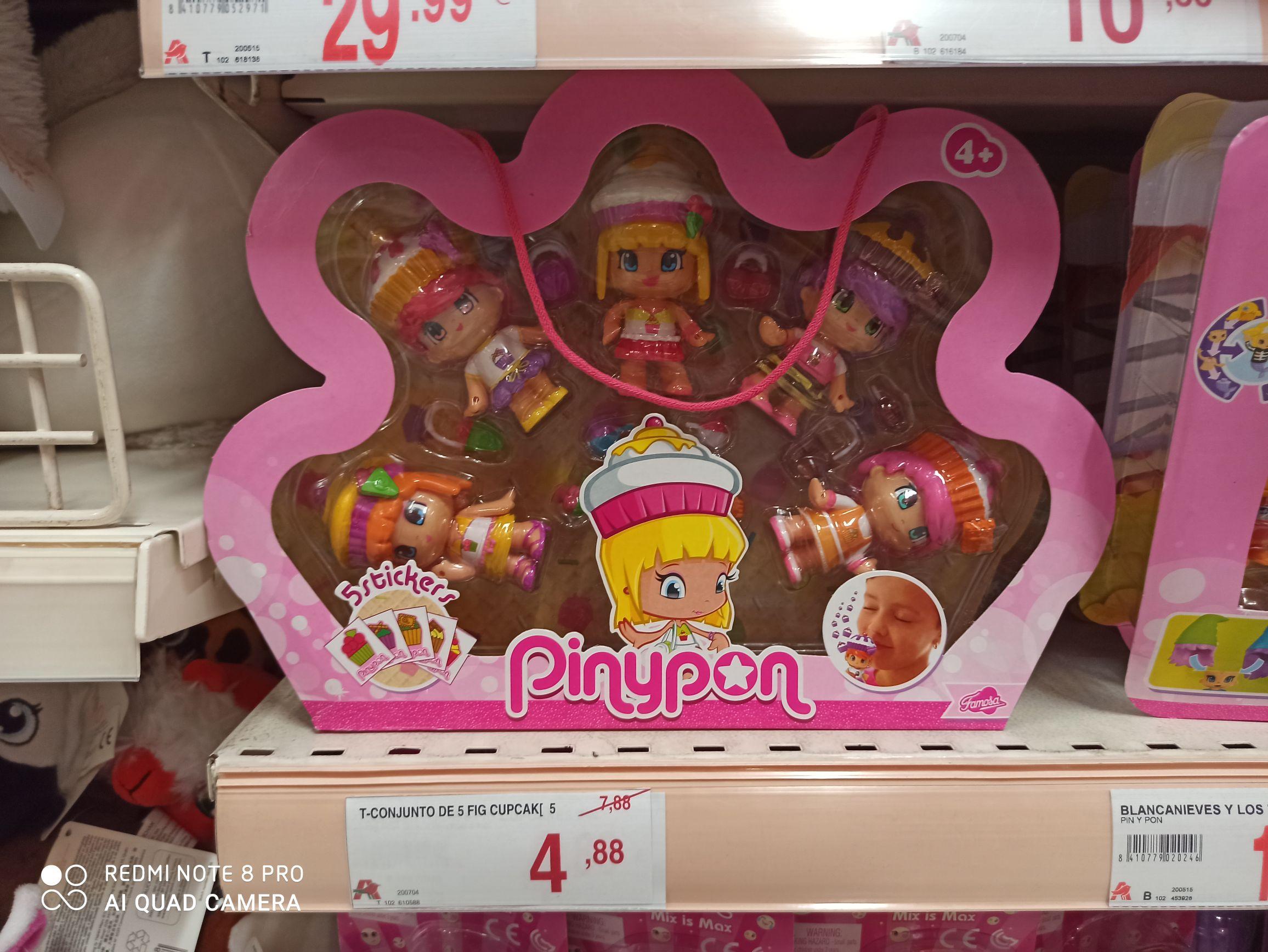 Alcampo Castellón - Pinypon - Set 5 figuras Cupcake