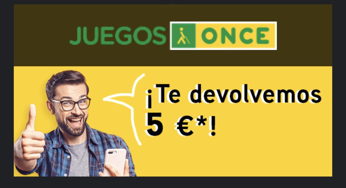 5€ GRATIS al recargar 10€ - Juegos ONCE