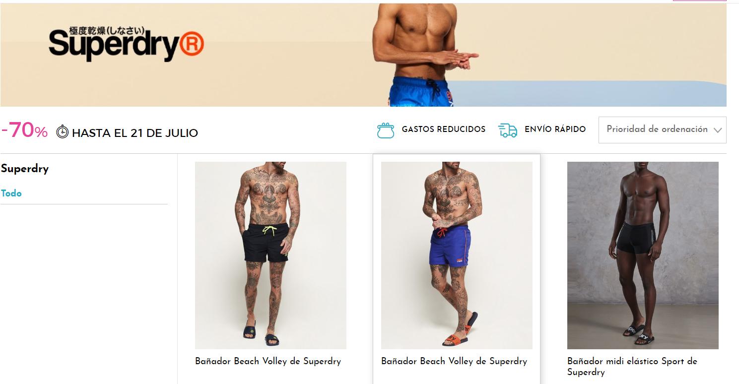 -70% | Bañadores SUPERDRY en Primerity
