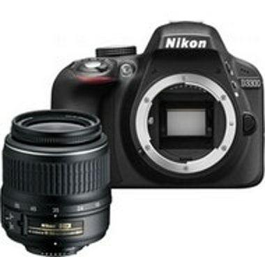 Nikon D3300 + AF-P 18-55mm Juego de cámara SLR 24,2 MP