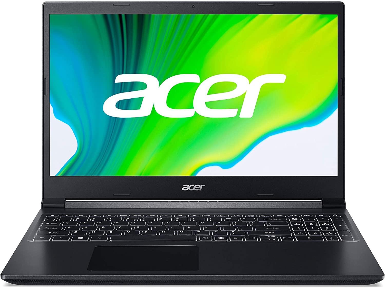 Acer Aspire 7 Ryzen 5 3550H + GTX 1650 + 8GB + 512GB solo 584€