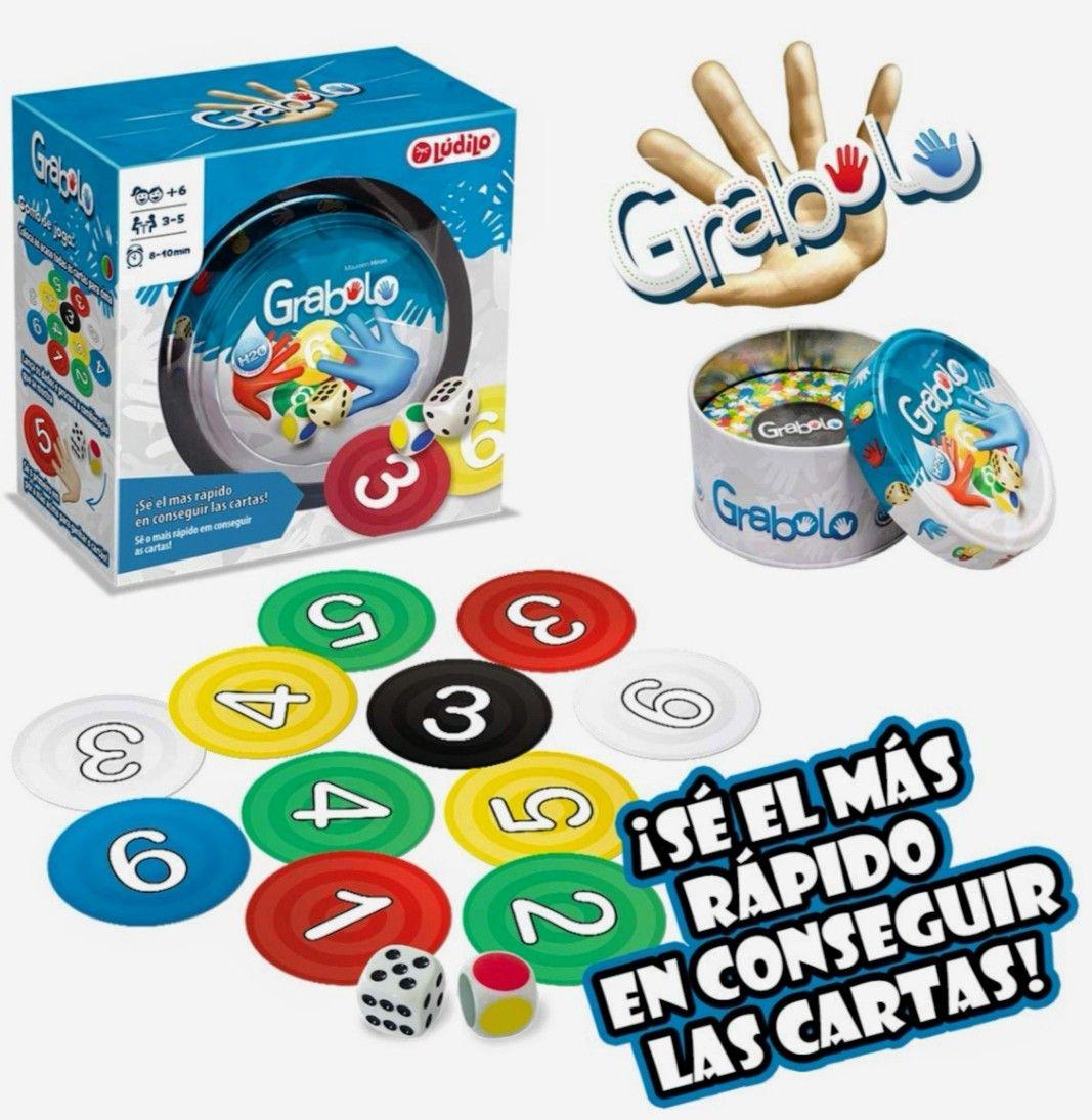 GRABOLO juego de mesa Educativo. Resistente al agua (Precio mínimo)