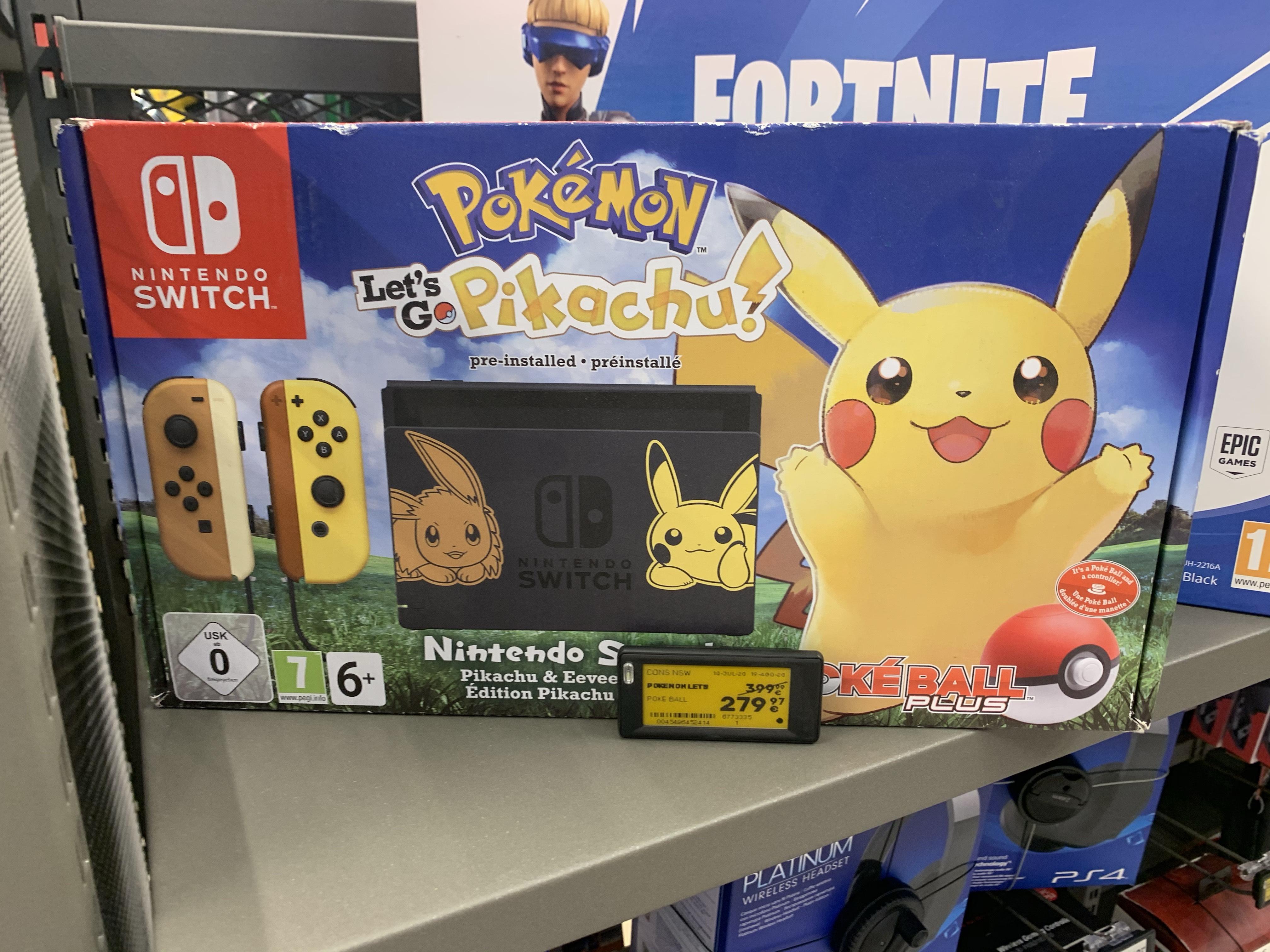 Nintendo Switch Ed. Picachu en Worten CC Airesur Sevilla