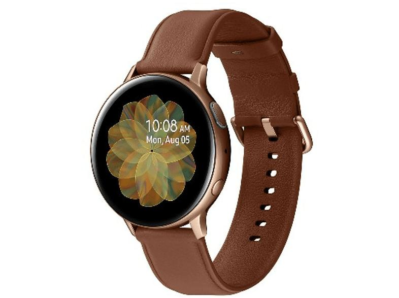 Smartwatch - Samsung Galaxy Watch Active 2, BT, 44 mm, Acero / Oro rosa