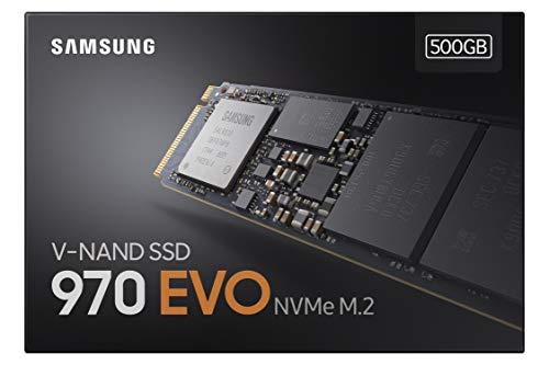 SSD Samsung 970 EVO - Disco duro sólido de 500 GB NVMe M.2
