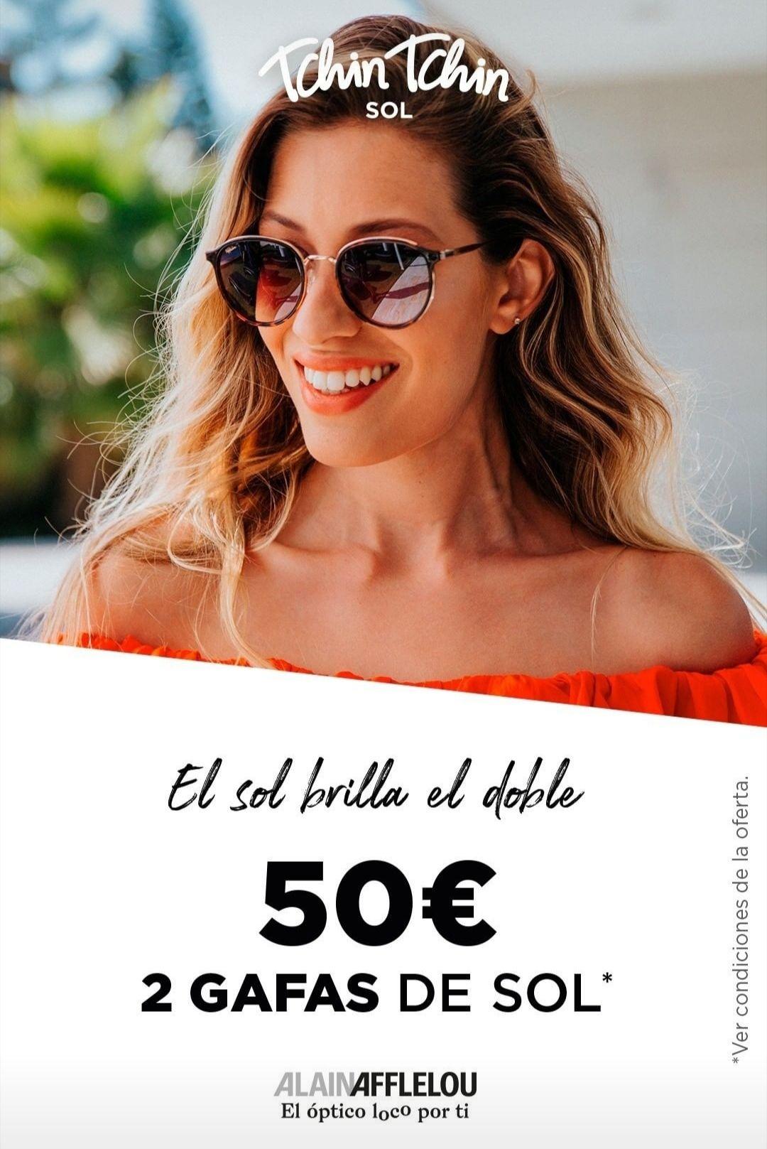 2 gafas de sol por 50€