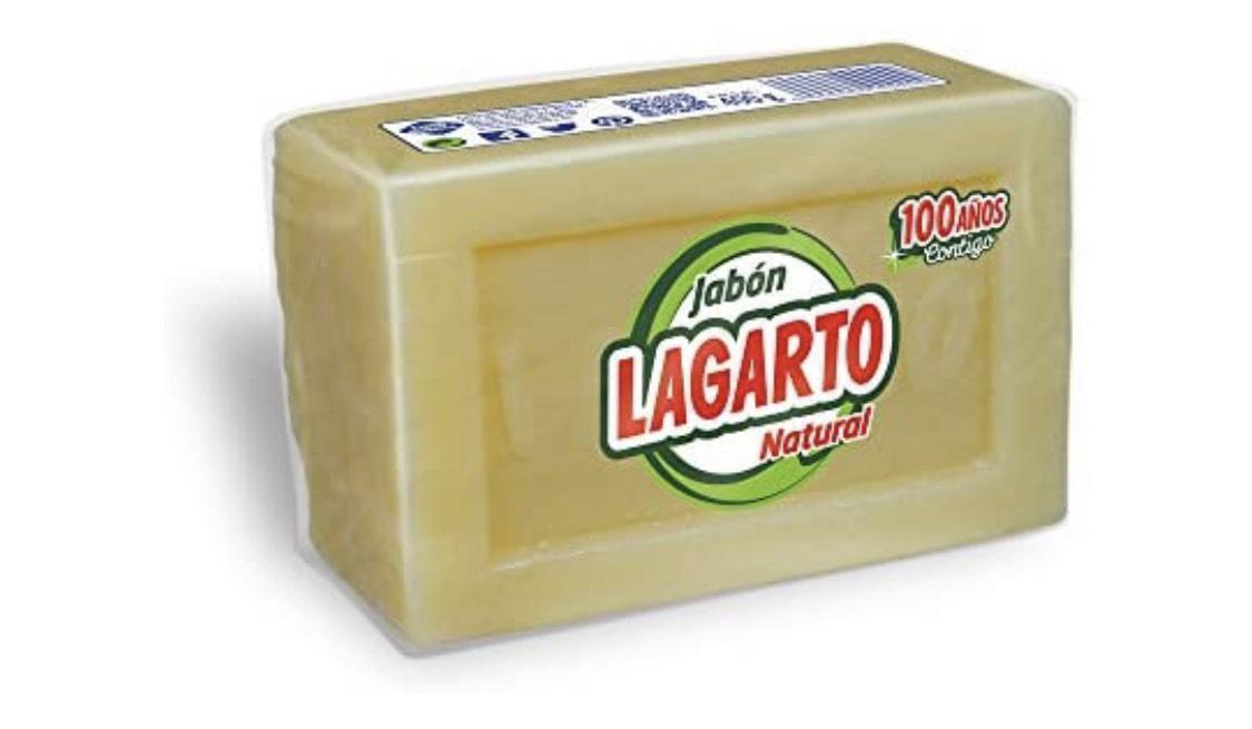 Lagarto - Jabón natural - 400 g - [paquete de 40 unidades]