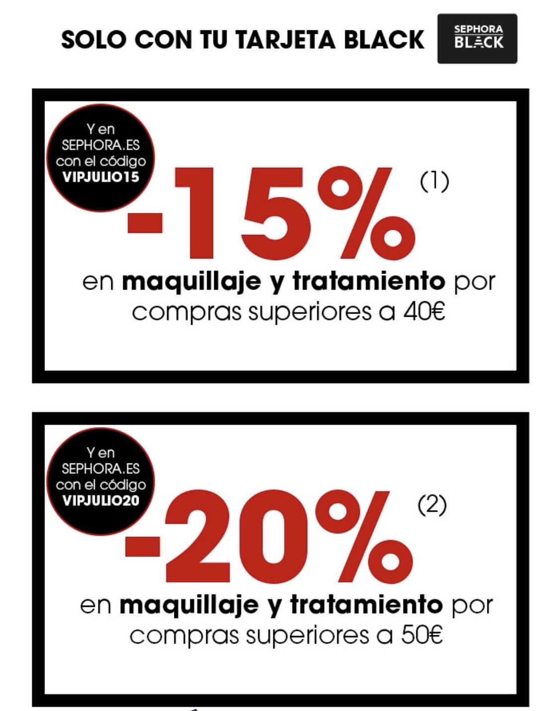 Sephora -20% en maquillaje y tratamiento + YSL 40% + Fragancia La Vie Est Belle 10%