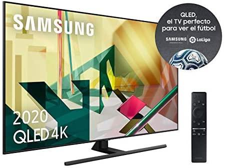 """Samsung QLED 4K 2020 55Q70T - Smart TV de 55"""" con Resolución 4K"""