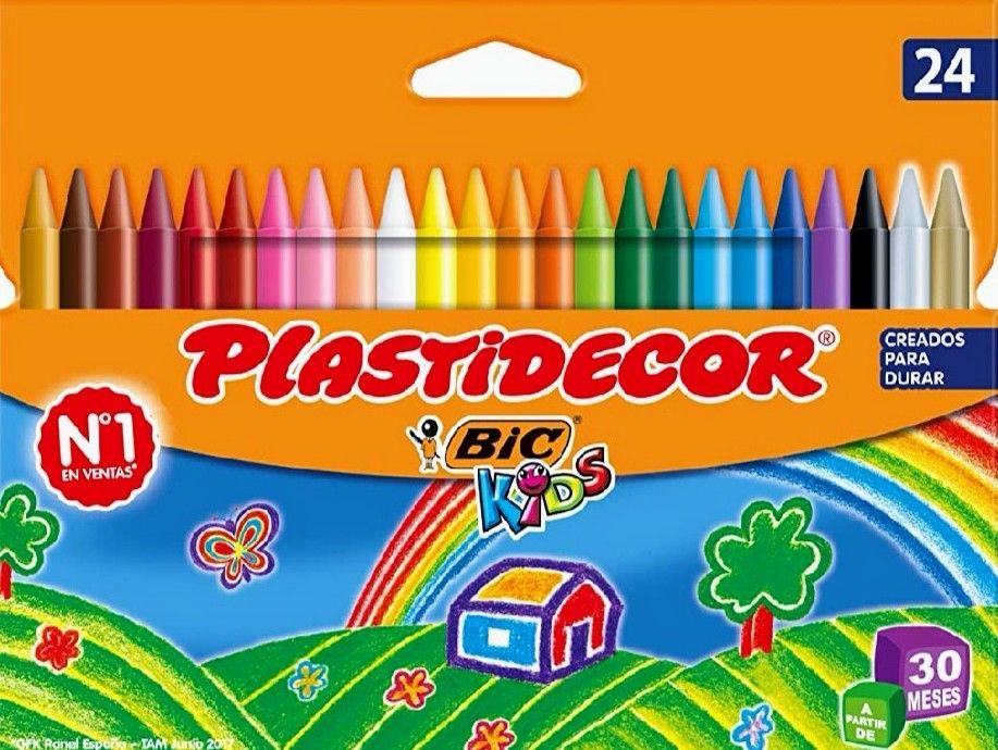 BIC Kids Plastidecor- Blíster de 24 unidades (Precio al tramitar)
