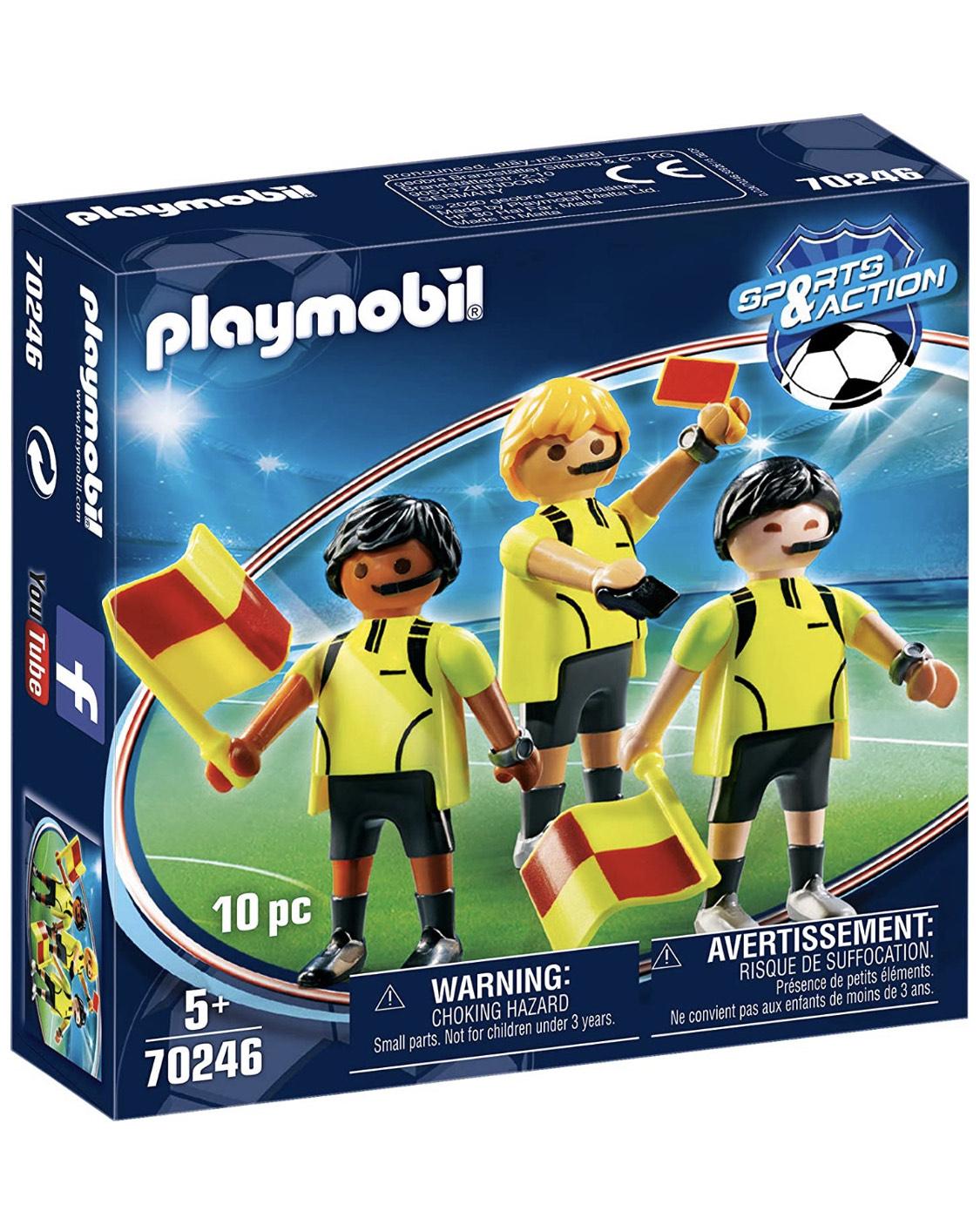 Playmobil árbitros 70246