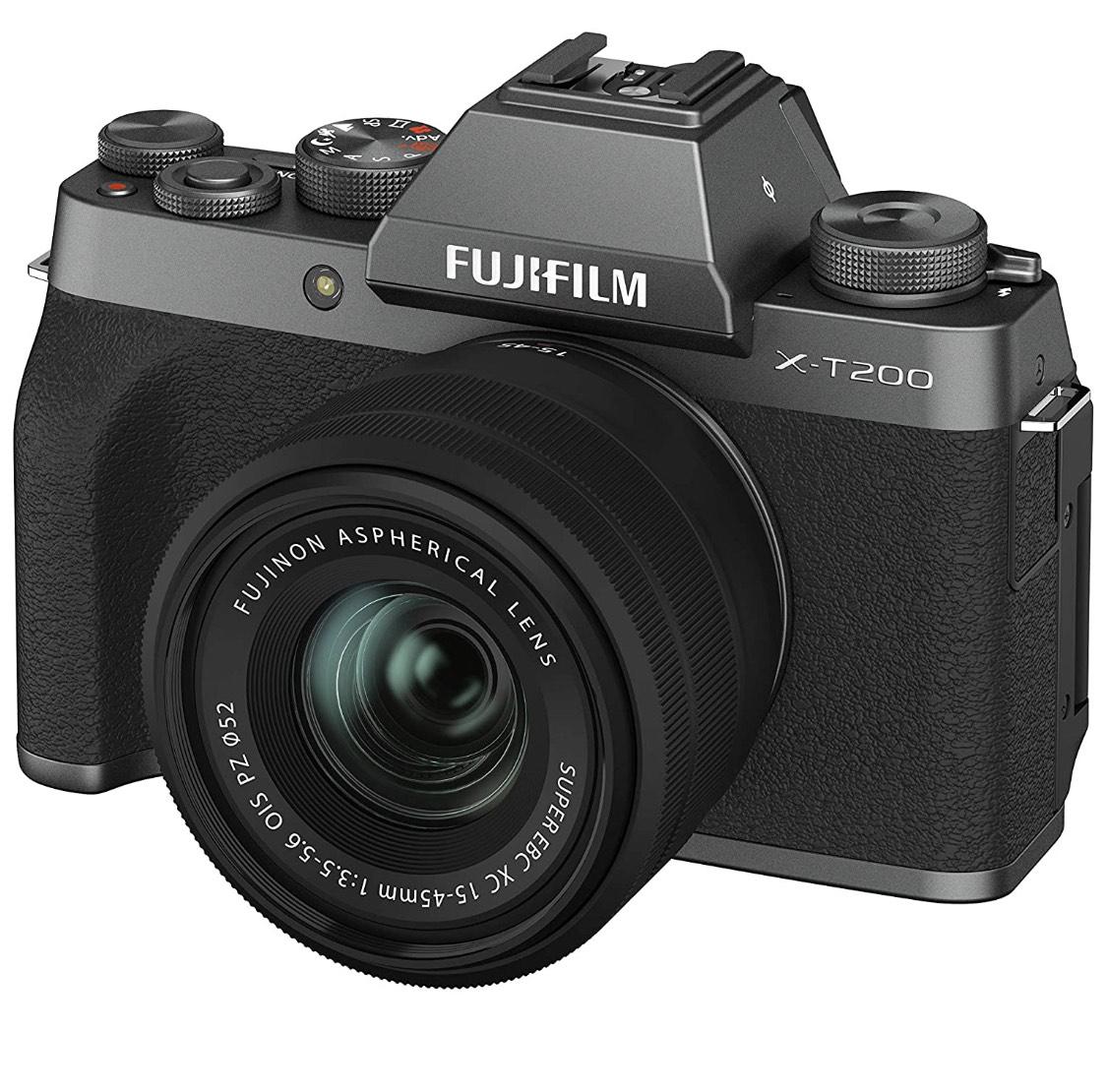 Fujifilm X-T200 + objetivo 15-45