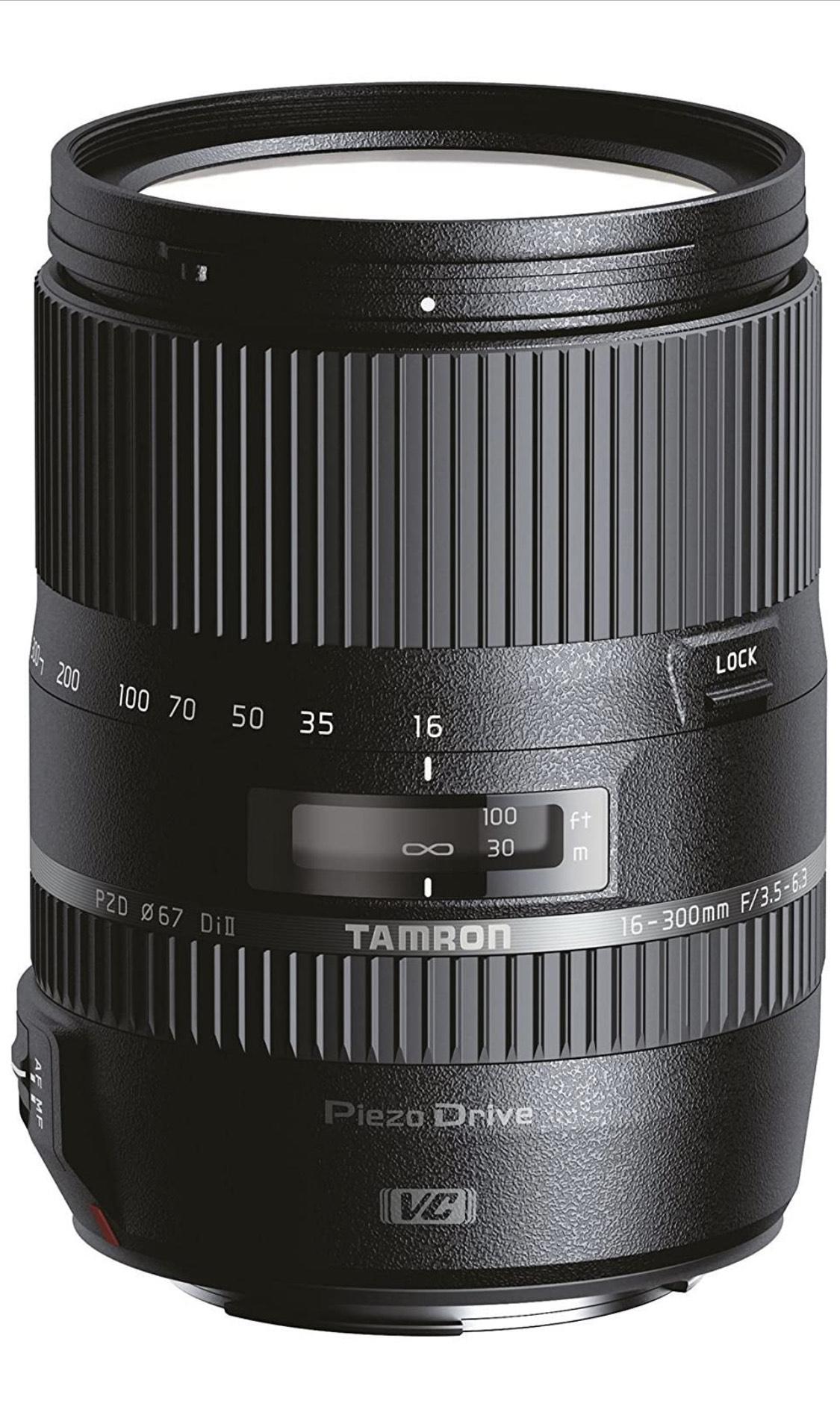 Objetivo para Canon 16-300mm