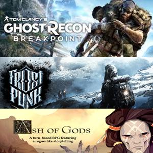 XBOX :: Juega Gratis Tom Clancy's Ghost Recon® Breakpoint, Frostpunk y Ash of Gods Redemption