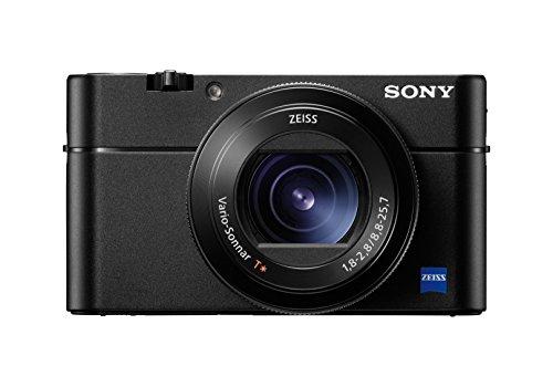 Sony DSCRX100M5A - Cámara Compacta, 20.1 MP, AF Híbrido de 0.05 s, 24 fps, Vídeo 4 K, Sensor CMO, Cámara Superlenta con 960 fps, Lente Zeiss