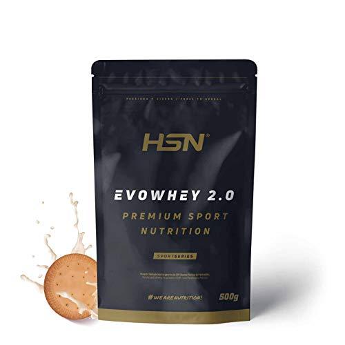Proteína concentrada 81 gramos /100 gramos cantidad 500gramos sabor galletas