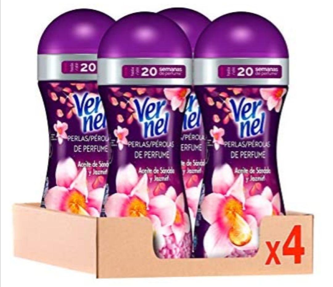 Vernel Supreme Pearls potenciador de perfume para la ropa Magic Affair – Pack de 4 (compra recurrente)