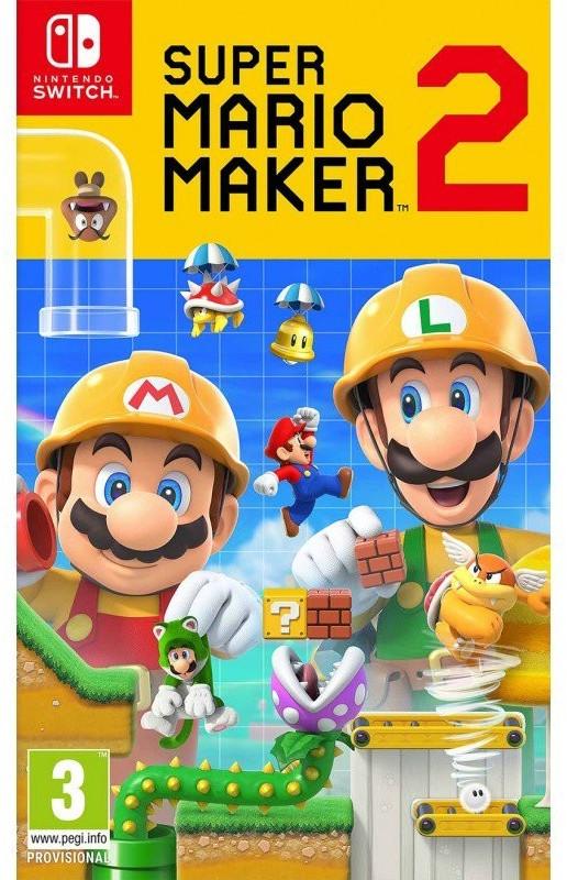 Super Mario Maker 2 a 39.99€