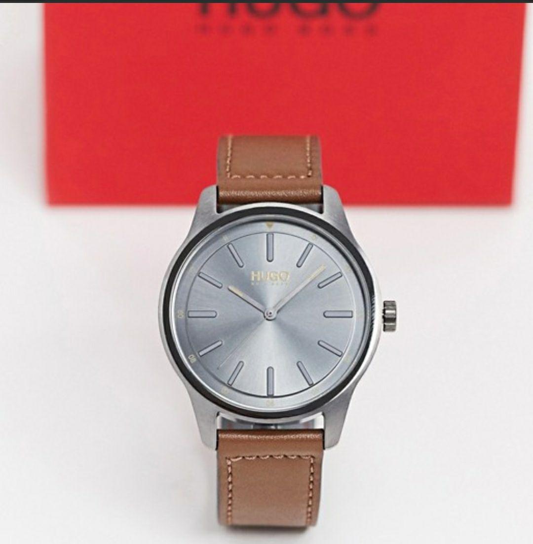 Reloj Hugo Boss correa de cuero a buen precio