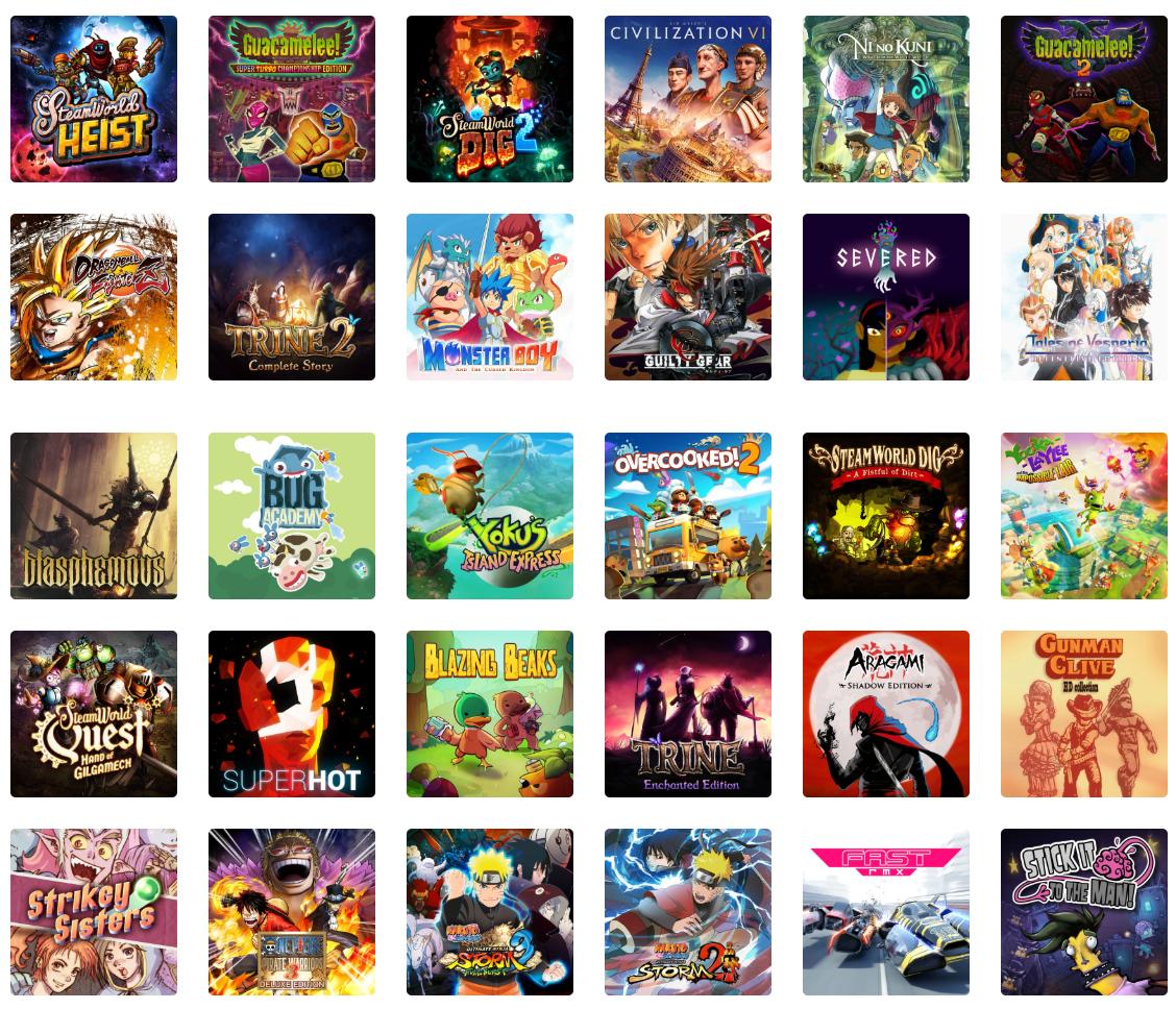 Descuentos en Sid Meier's Civilization VI, Ni No Kuni Remastered, Dragon Ball Fighterz y otros