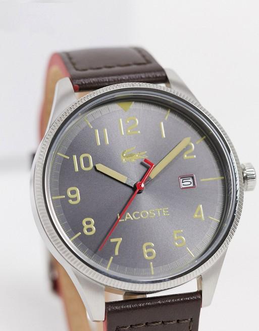 Reloj dorado Continental de Lacoste