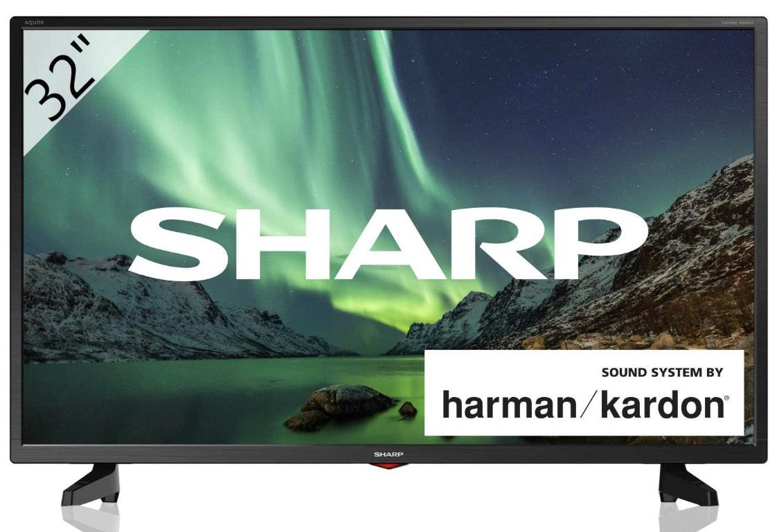 TV Sharp 32' con sistema harman\kardon