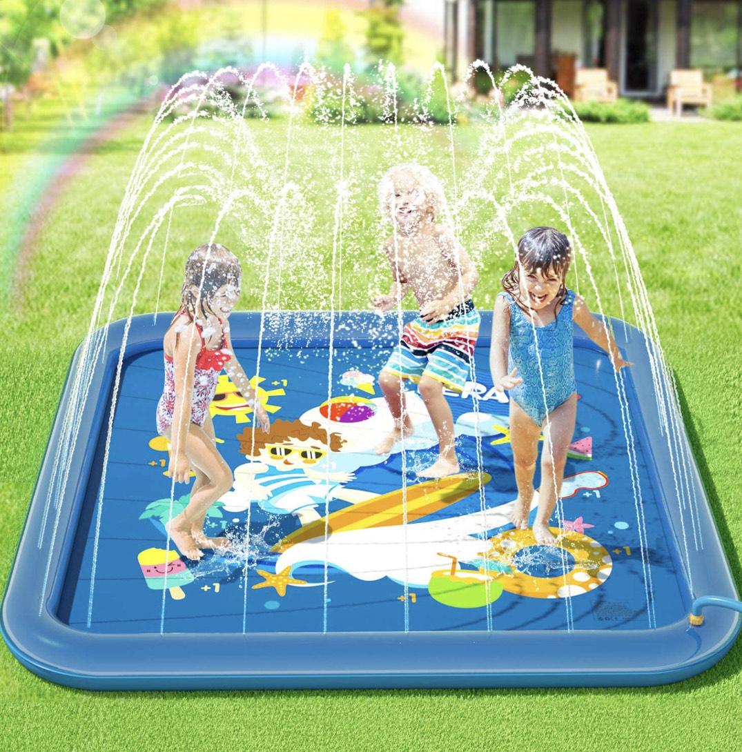 Tapete de juegos de água para niños