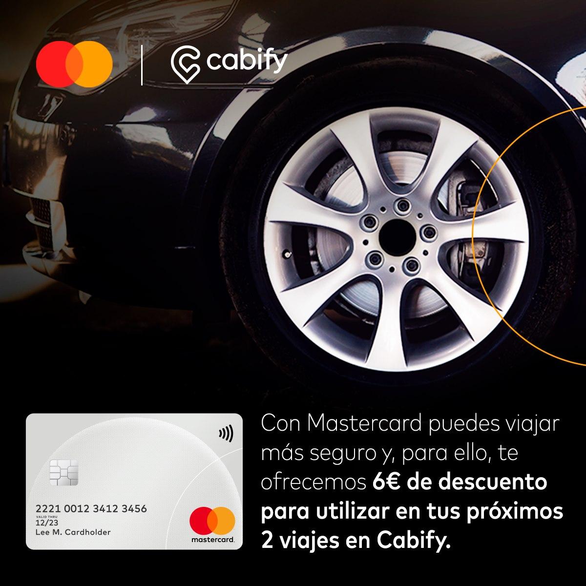 6€ Descuento Cabify