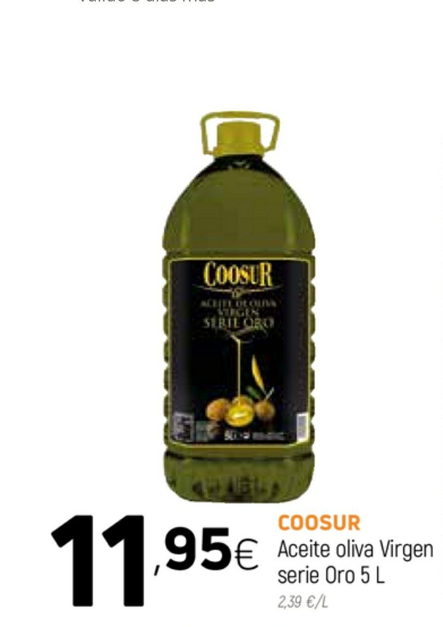 Aceite de oliva Virgen COOSUR 5 LITROS