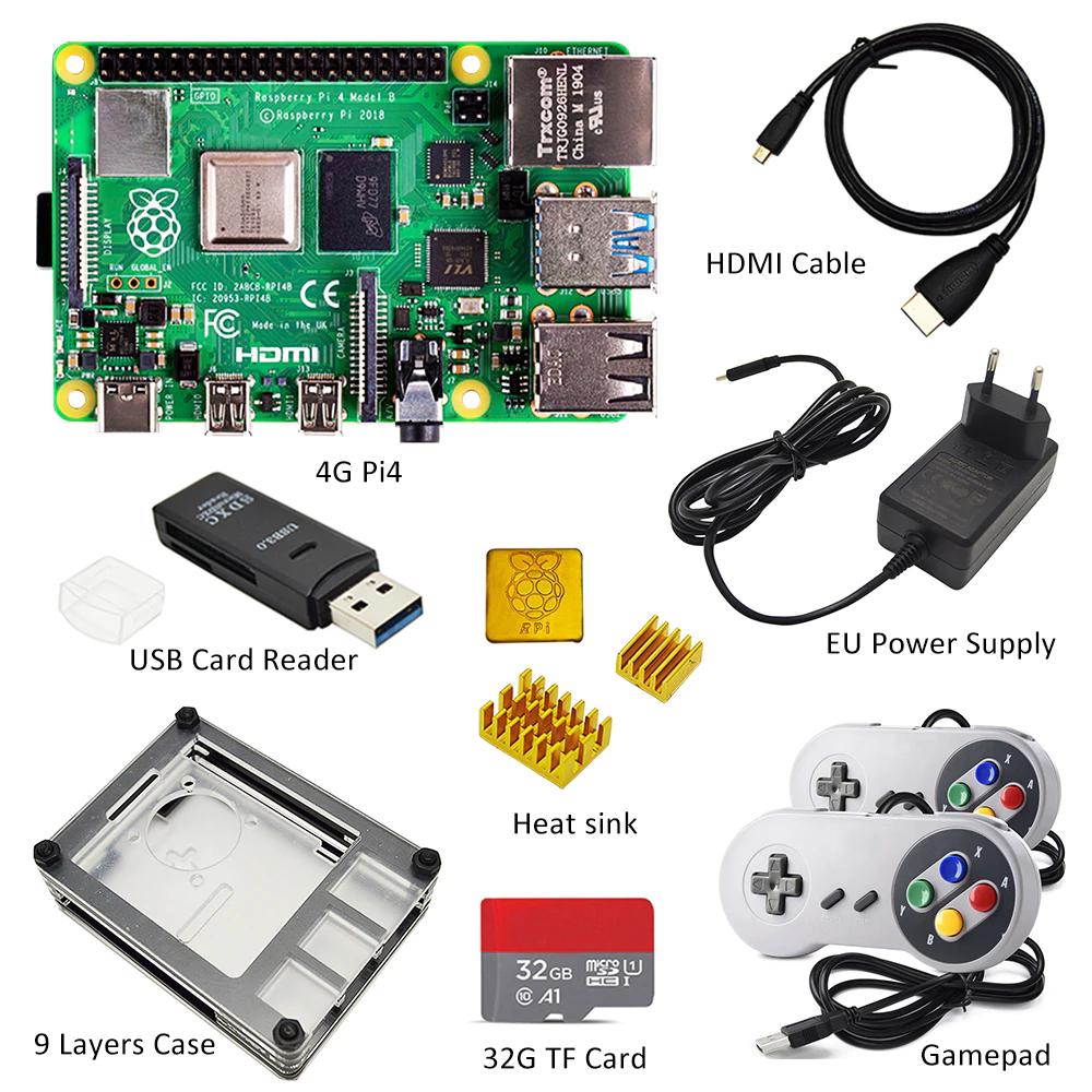 Kit de Raspberry Pi 4 4GB