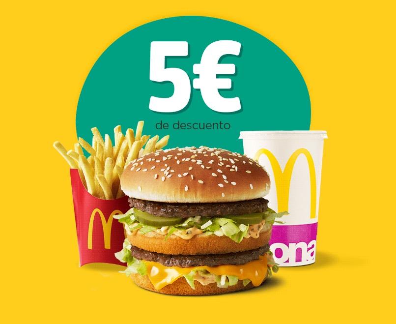 5€ de descuento en tu primer pedido con Glovo