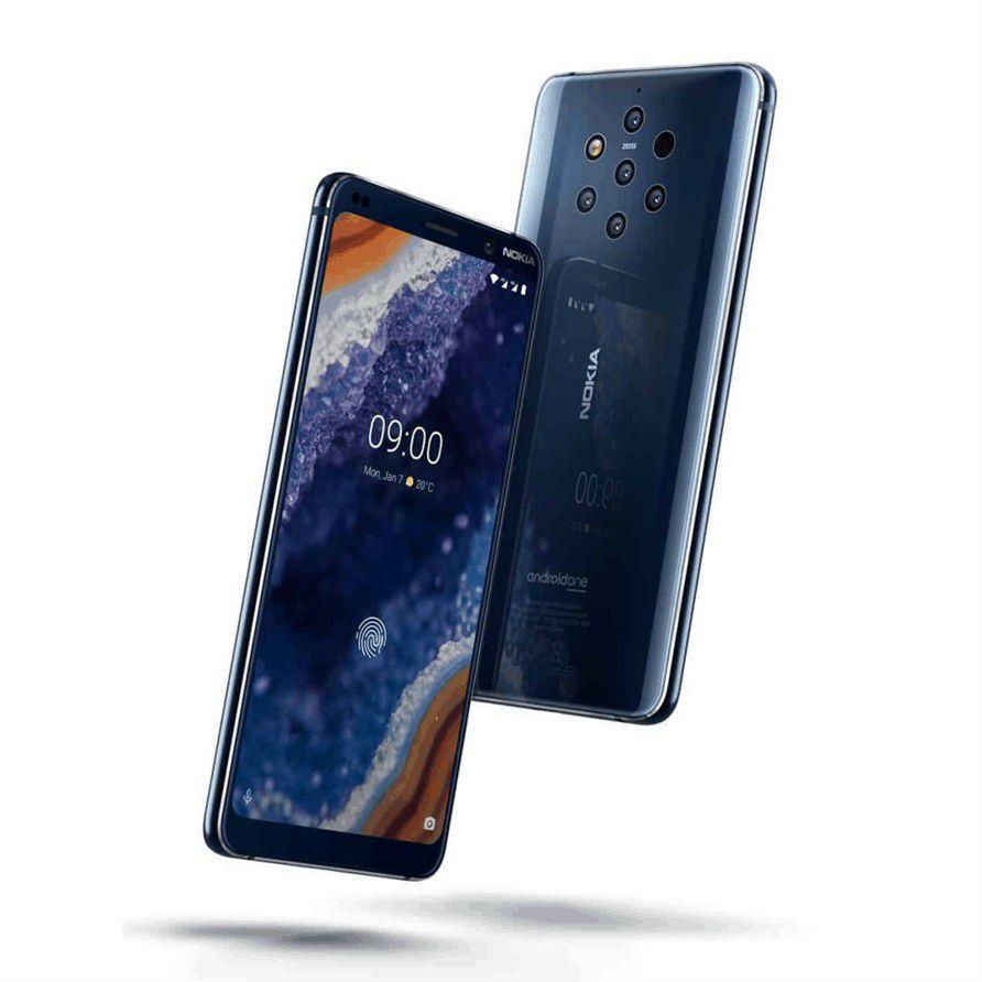 Nokia PureView 9 TA-1082 6GB / 128GB solo Sim - azul medianoche