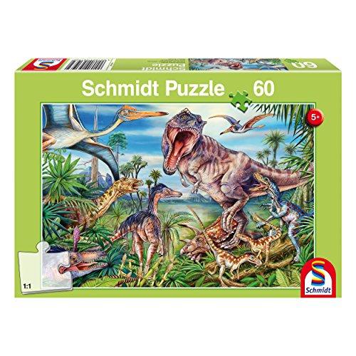 Schmidt puzzle dinosaurios 60 piezas