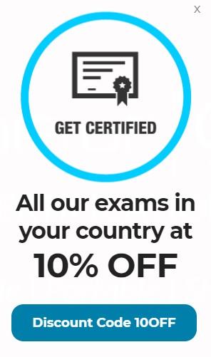 Exámenes CertiProf al 10% de descuento (Agile, Scrum, DevOps, KanBan, OKR, ISO, Six Sigma)