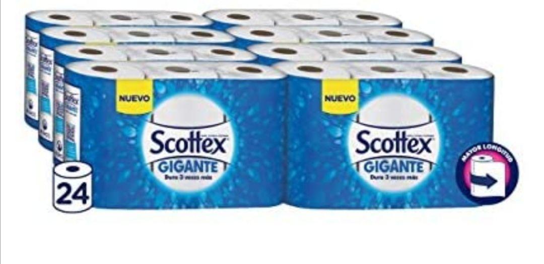 Scottex Gigante Papel de Cocina - 24 rollos (compra recurrente)