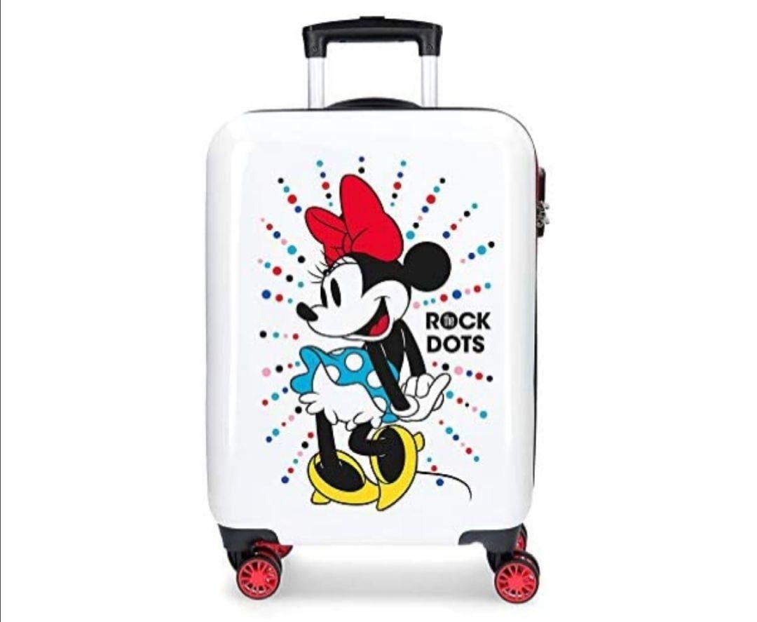 Maleta de cabina Minnie Magic dots rígida 55cm