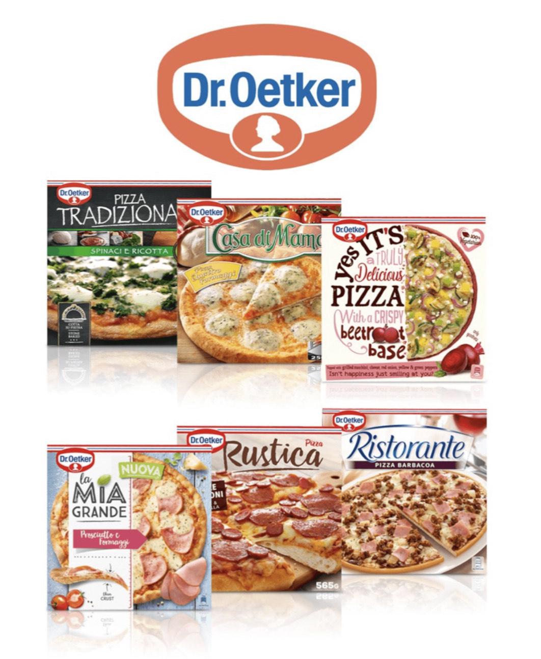 PIZZA Dr. OETKER = Cupón + 2x1 CARREFOUR en ChequeAhorro