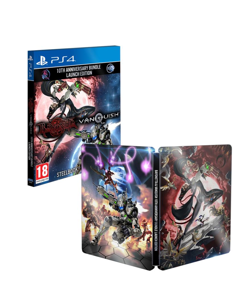Bayonetta & Vanquish Pack 10th Aniversario PS4 Y XBOX ONE