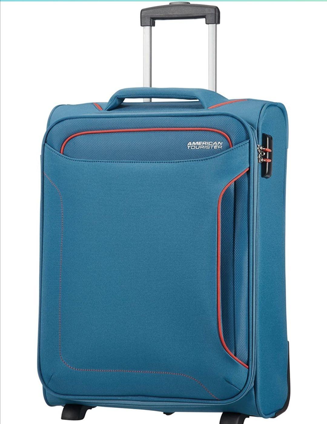 American Tourister Holiday Heat - 55 cm, 42 l, Azul (Denim Blue)