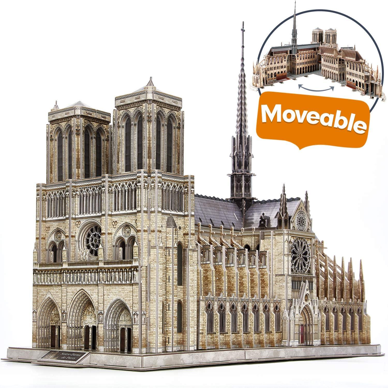 Notre Dame de París - Puzzle 3D