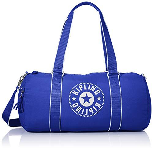 Kipling ONALO Bolsa de Viaje, 45 cm, 18 Liters, Azul