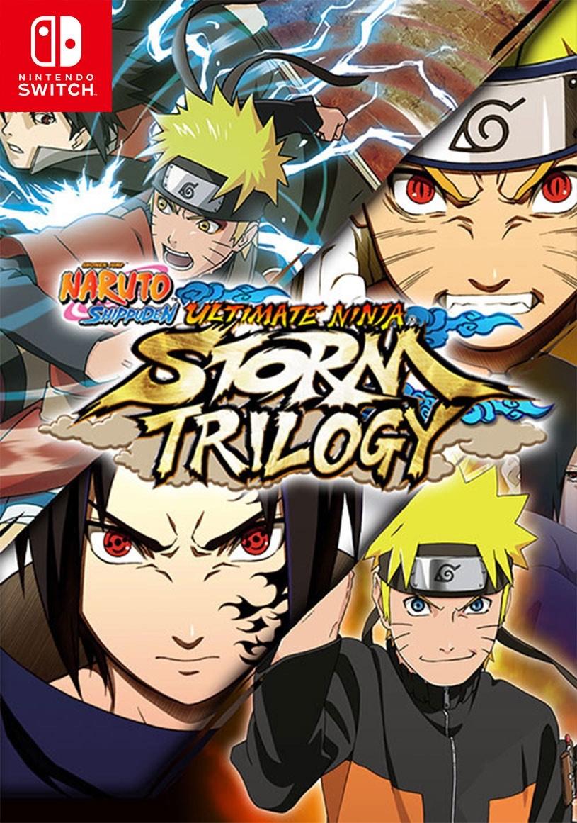 Naruto Ninja Storm Trilogy Switch